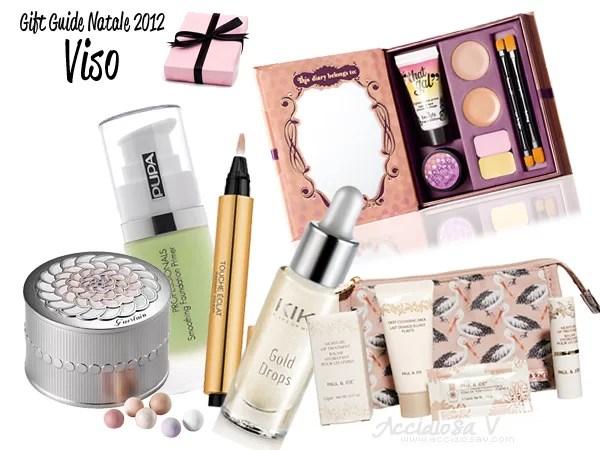 Gift Guide Beauty Natale 2012: prodotti viso