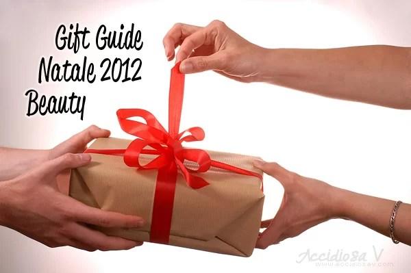 Gift Guide Natale 2012: Beauty