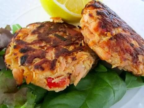 Tortini al Salmone by Luisana Suegart - Ricette Light & Dietetiche - AccidiosaV