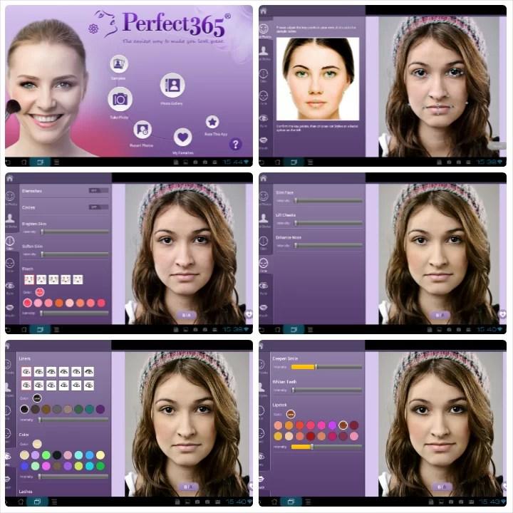Perfect365 - La app di fotoritocco per il selfie Instagram perfetto - Android e Ios   Accidiosav.com