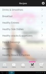 Blogilates Official App Android - Screenshot - Recipes | Accidiosa V