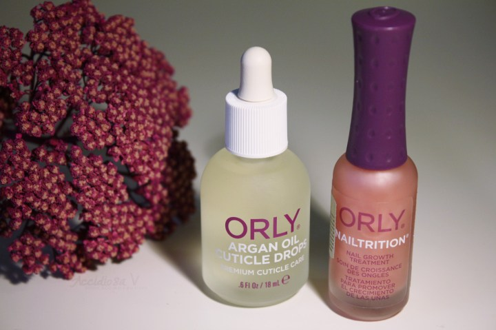 Orly - Trattamenti unghie e cuticole 2014 - Argan Oil Cuticle Drops e Nailtrition | AccidiosaV