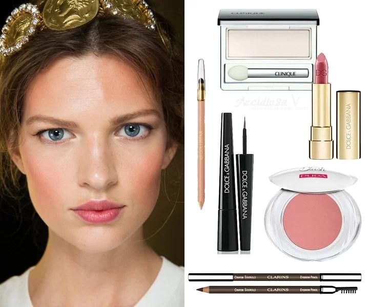 Idee Makeup San Valentino - Dolce & Gabbana RTW Primavera Estate 2014 | AccidiosaV