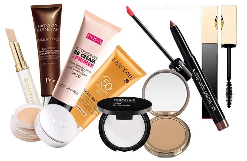 summer proof makeup - prodotti per makeup estivo