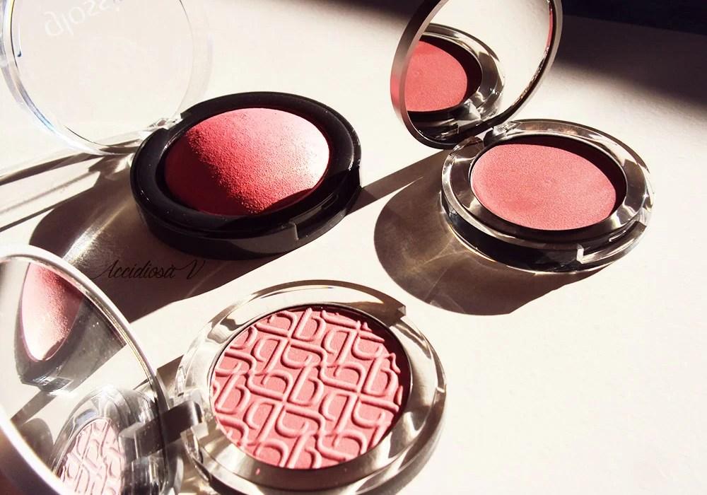 Glossip - Recensione dei blush in uscita ad autunno 2014
