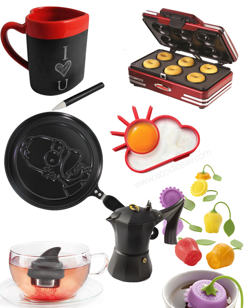 Regali Natale 2014: gadget e accessori da cucina per foodies