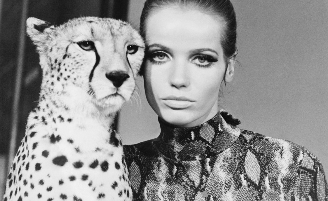 Beauty Icon - Veruschka - Swinging London 60s Model