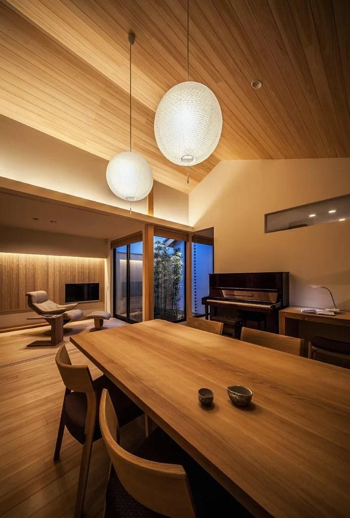 idee per arredare la sala da pranzo in stile giapponese