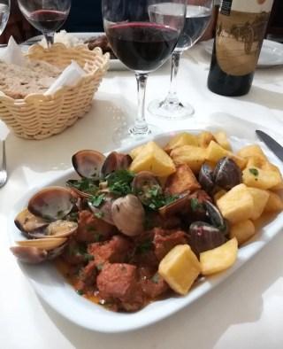 Cosa mangiare in Portogallo - Porco Alentejana