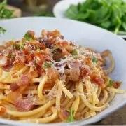 Ricetta Light pasta carbonara