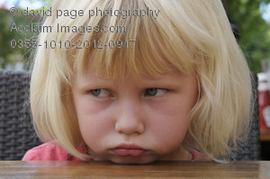 acclaim images pouting child