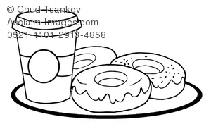 donut coloring pages clipart images and stock photos