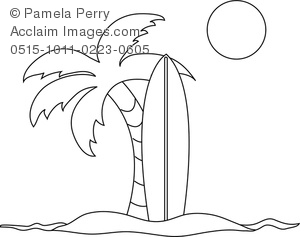 surfboard coloring page # 15