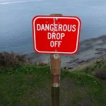 Just when you think that you're there, you encounter a drop off…