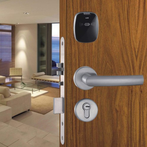 small resolution of accom h6100 hotel room card door lock with installation