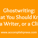 Ghostwriting Feature #3 – Atilola Moronfolu