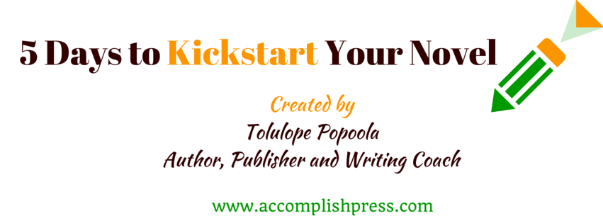 5 Days to Kickstart Your Novel