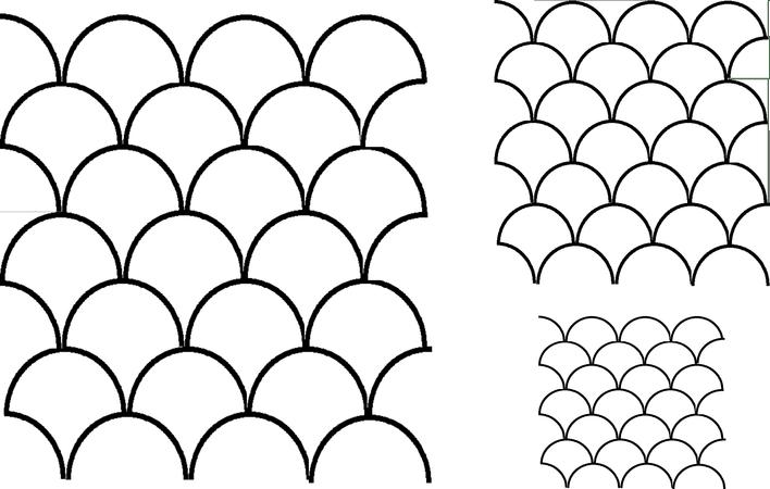 Full Line Stencil Clamshells