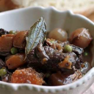 butternut squash beef stew