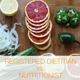 The Difference Between Registered Dietitian and Nutritionist