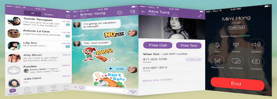 Login on your Viber account
