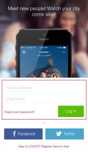 Lovoo app login