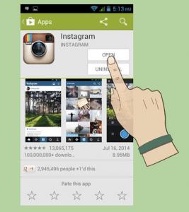 Instagram Sign up