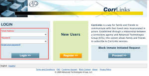 Login Corrlinks