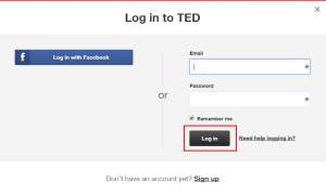 TED Login