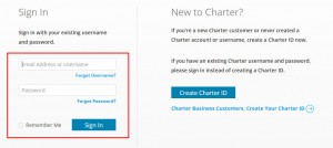 Charter Webmail Sign in