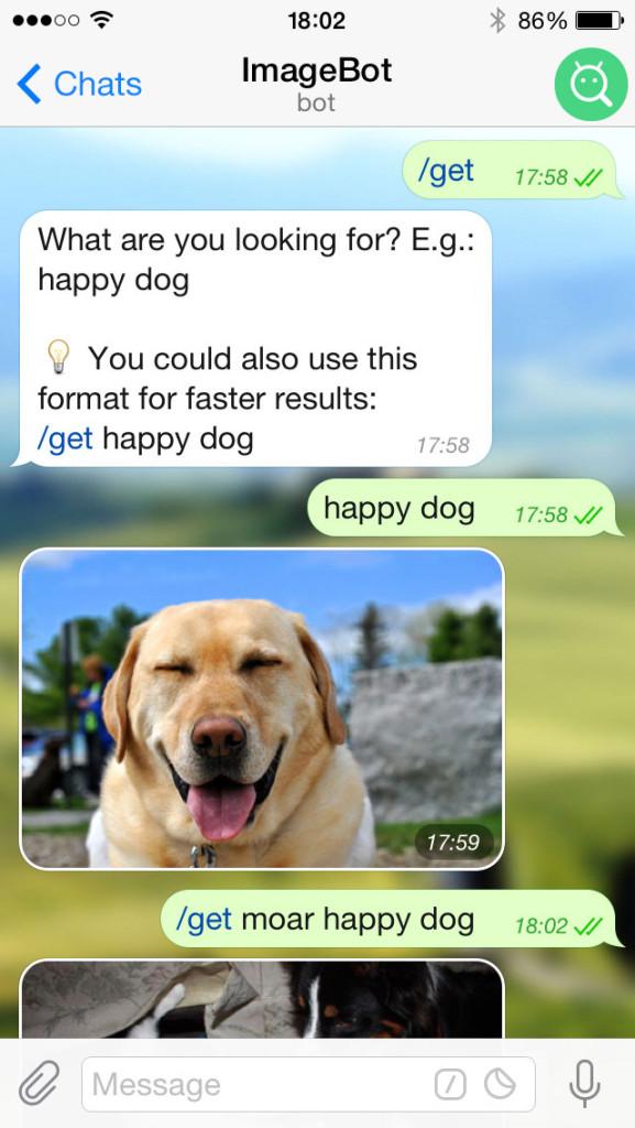 Telegram image bot