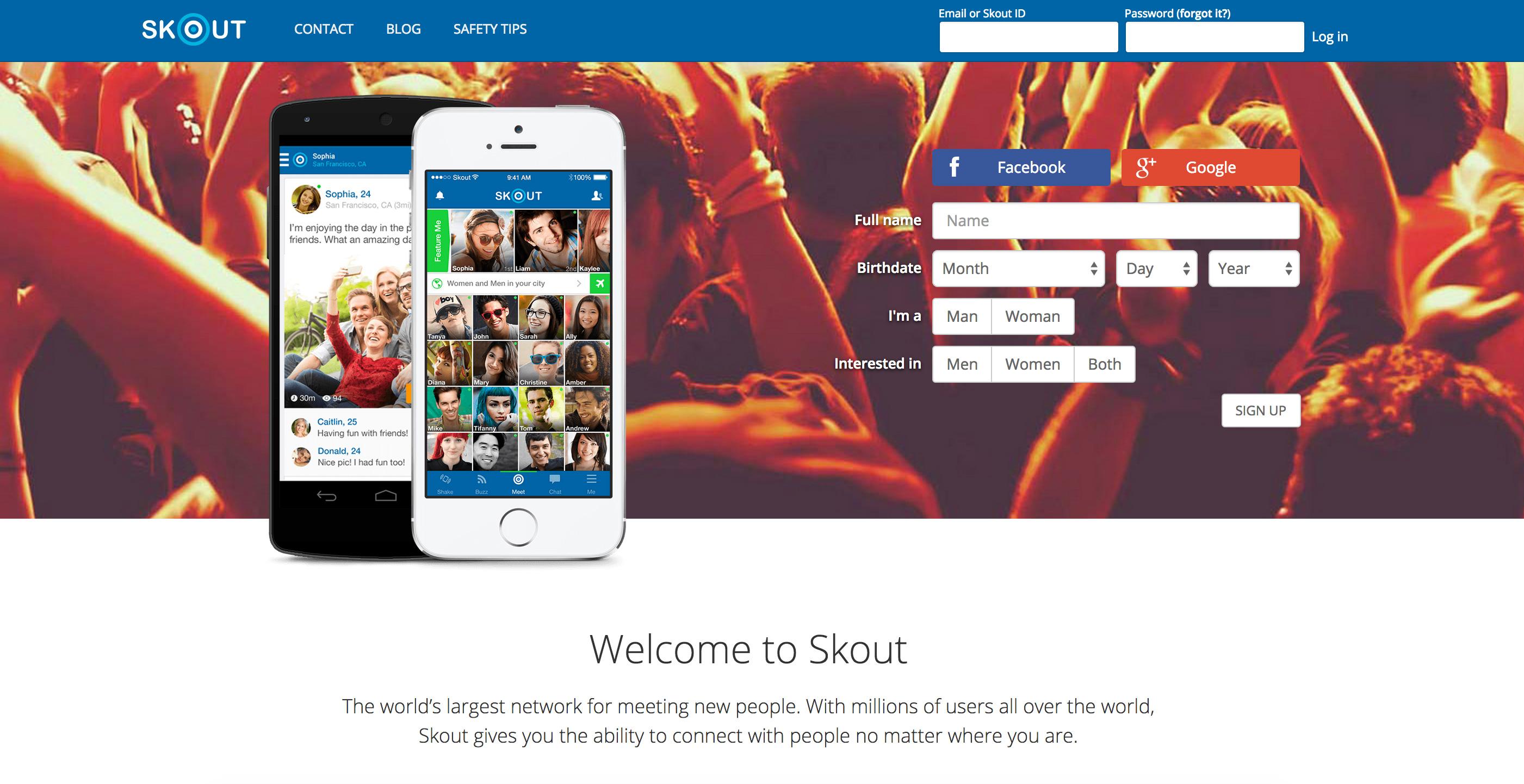 Skout Sign Up - accountdesk.net