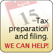 Tax services filing