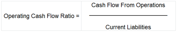 Operating Cash Flow Ratio