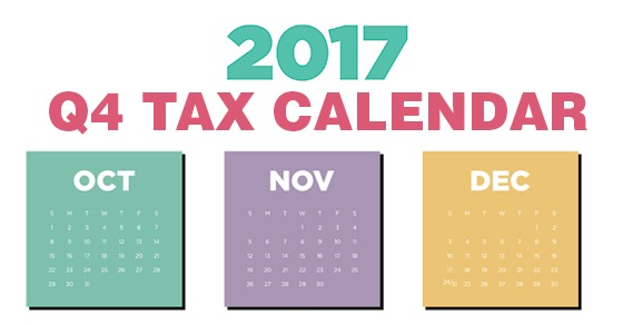 Employers 2017 Tax Due Dates