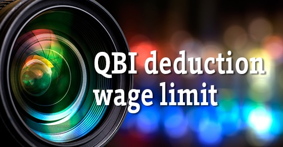 qualified business income wage limit