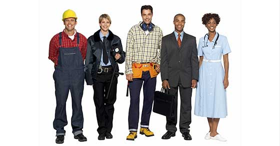 Group of Employees and Independent Contractors