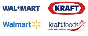 Walmart & Kraft Have Redesigned Their Logos To Appear More Friendly