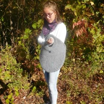 Ricochet, sac feutré / felted bag, crochet