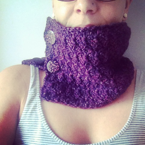 ACCROchet col / cowl, crochet