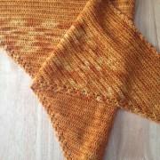 Farfalla châle / shawl, crochet