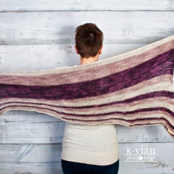 Theoretically châle / shawl, Tun. crochet