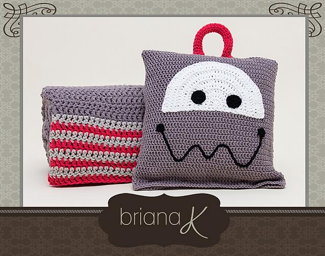 Robot sleeping bag - Briana K Crochet