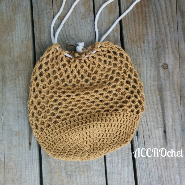 Estelle sac réutilisable/market bag, crochet