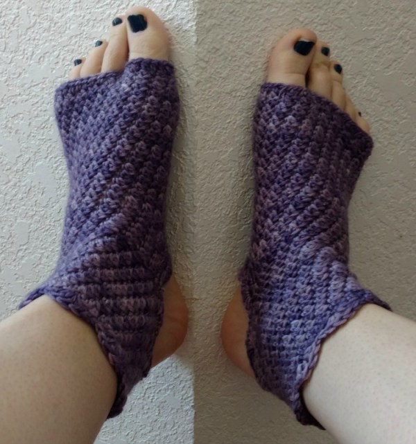Charity's Dragonfly Yoga Socks