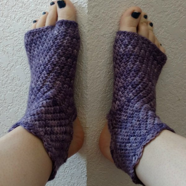 Charity's Dragonfly Yoga Socks