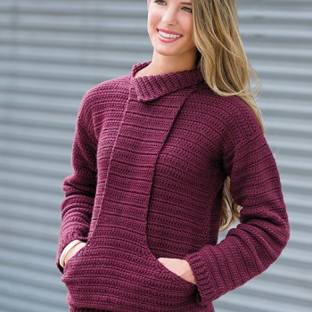 Cozy Fireside Sweater by ACCROchet