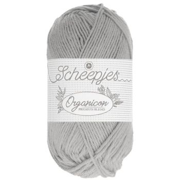 Scheepjes Organicon - Couleur 203 Frosted Silver