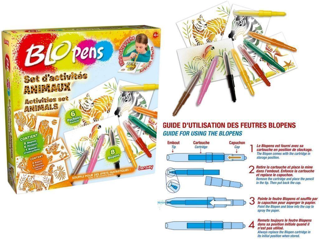 Activités enfant coloriage pochoirs spirograph