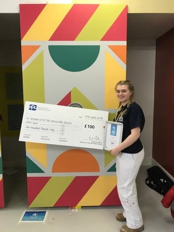 College student wins prestigious award